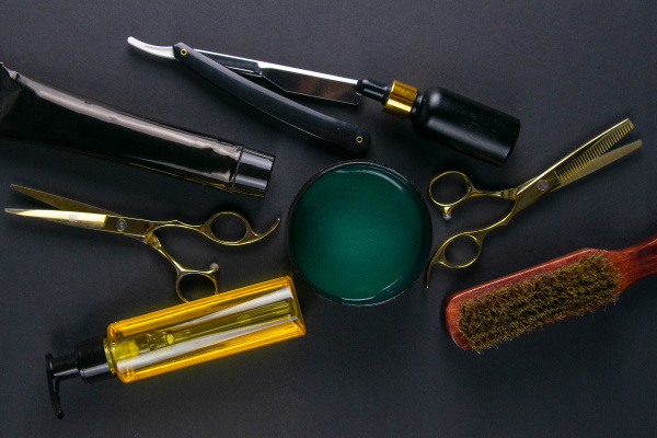 scissors, , hair, clipper, , combs, , dangerous, razor, - 28239823