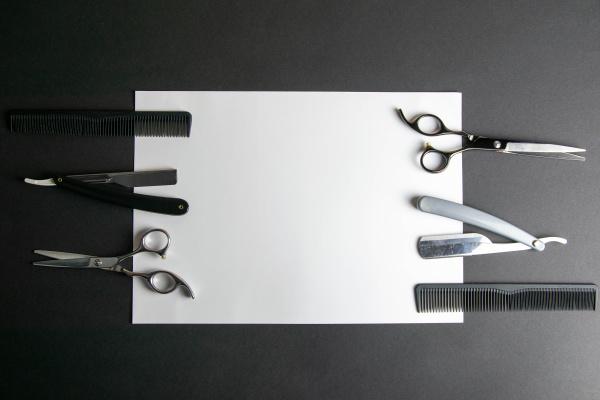 scissors, , hair, clipper, , combs, , dangerous, razor - 28239909