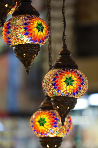 traditional, vintage, turkish, lamp, - 28239358