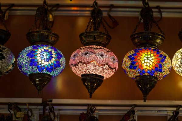 traditional, vintage, turkish, lamp, - 28239408