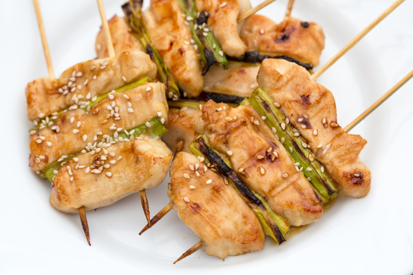 barbecue, with, delicious, grilled, meat, and - 28240317