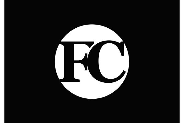 f, c., fc, initial, letter, logo - 28240013