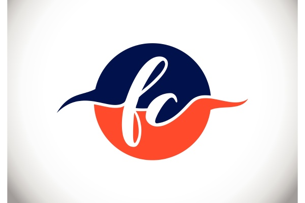 f, c., fc, initial, letter, logo - 28240076