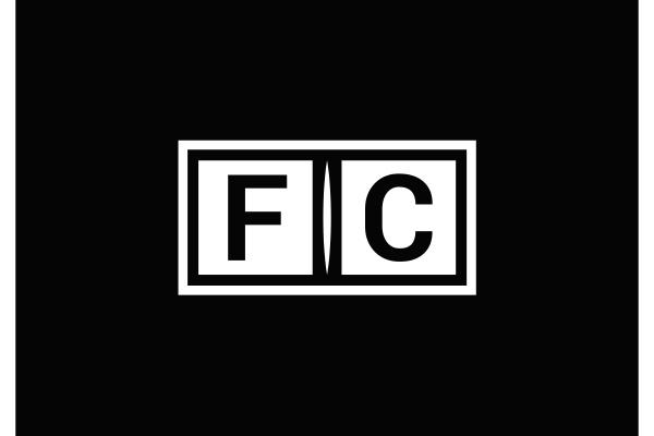 f, c., fc, initial, letter, logo - 28240084