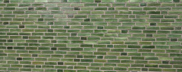 green, brick, wall, background - 28240271