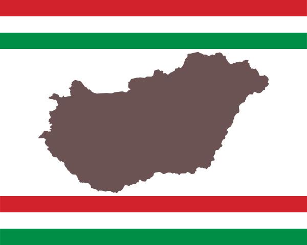 landkarte, von, ungarn, auf, hintergrund, mit - 28240152