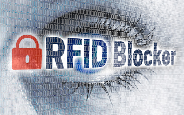 rfid blocker eye with matrix looks