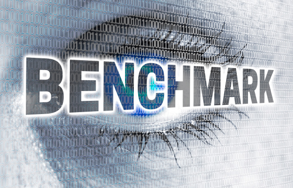 benchmark eye with matrix looks at