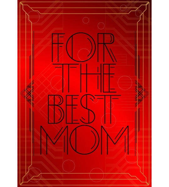 art, deco, for, the, best, mom - 28257667