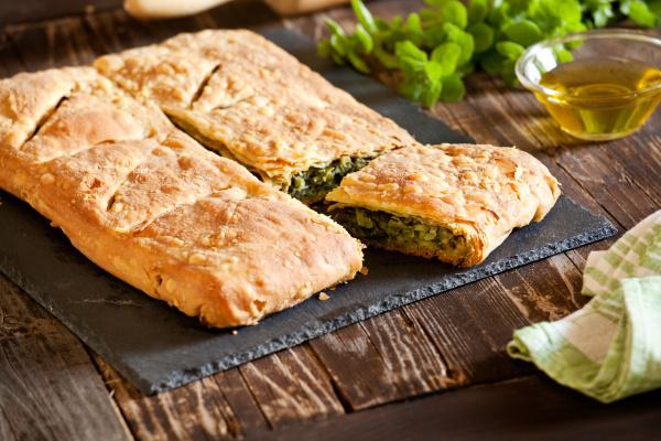 greek, spinach, pie - 28257619