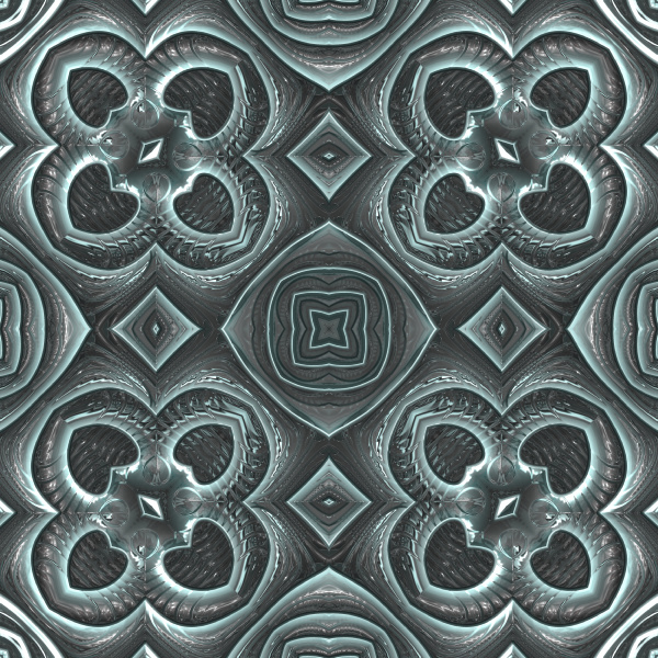 shiny teal seamless repeating pattern tile