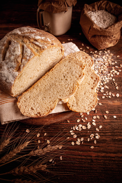 artisanal wheat bread