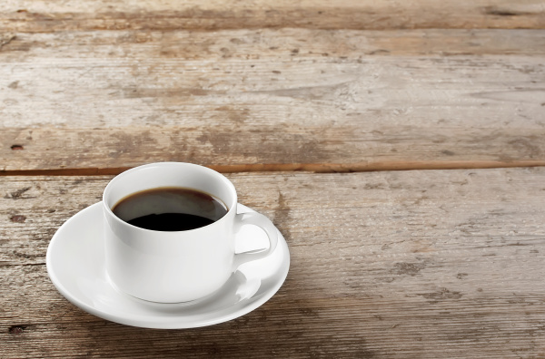 cup of strong black coffee