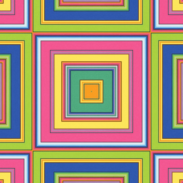 allover repeating pattern color block tile