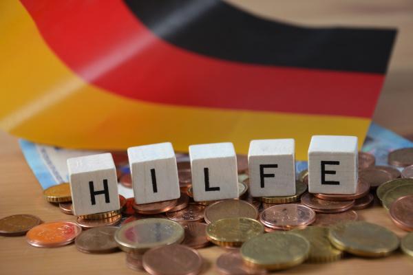 hilfe german word for