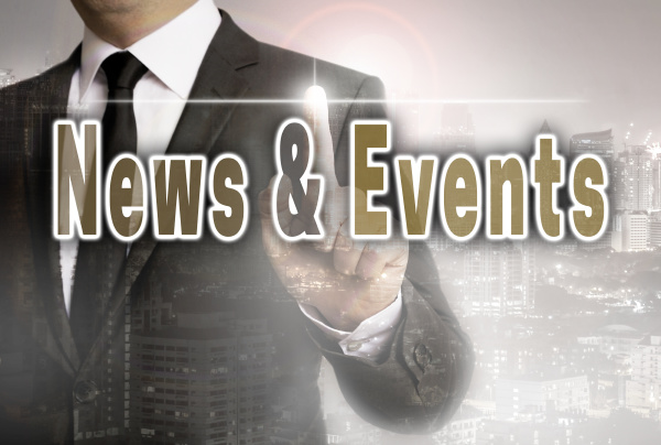 news and events is shown by