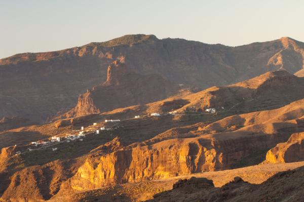 village of el toscon and roque