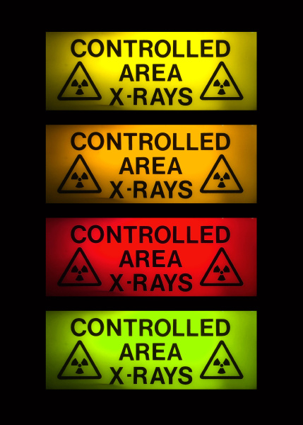 x rays sign