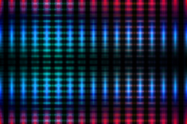 blurred glowing lights background