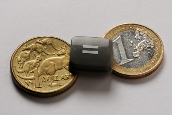 australian dollar with european currency