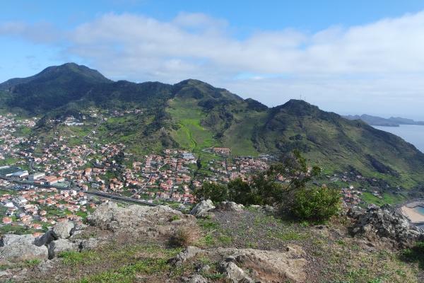 madeira view of machico