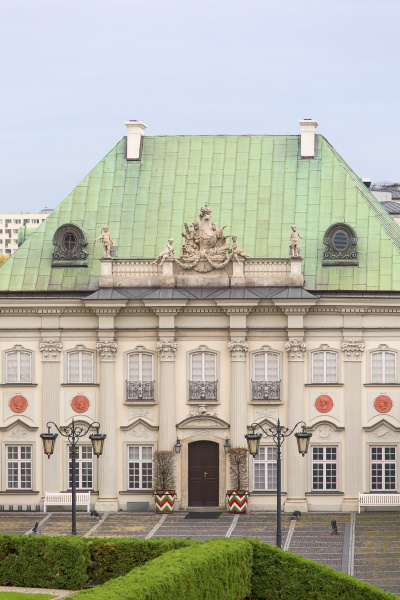 18th century copper roof palace it