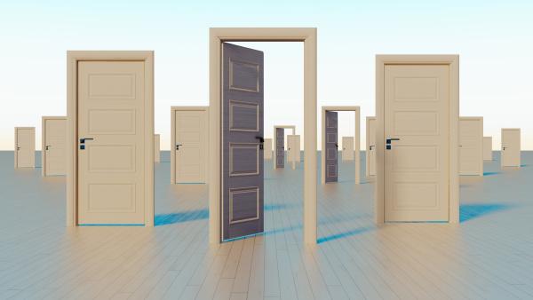 doors to the world of opportunities