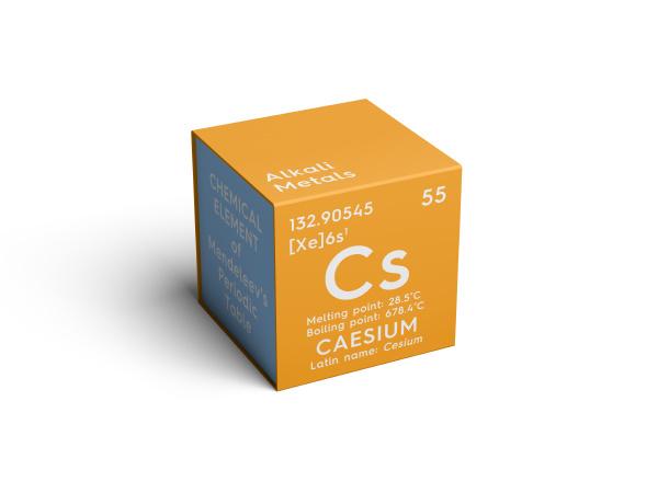caesium cesium alkali metals chemical element