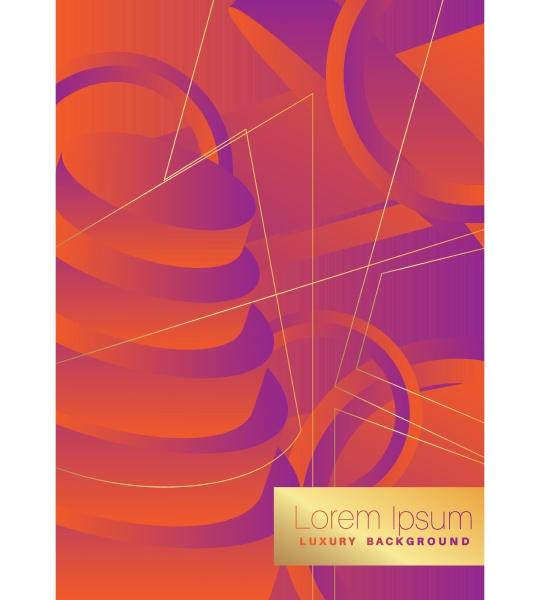 minimalist orange and purple premium exclusive