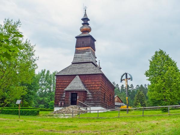 historic wooden church