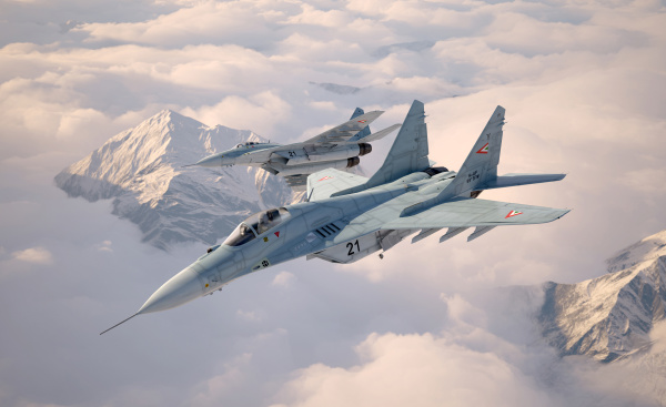 military fighter aircraft mig 29