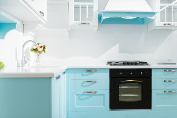 luxury, kitchen, interior, in, white, and - 28465484