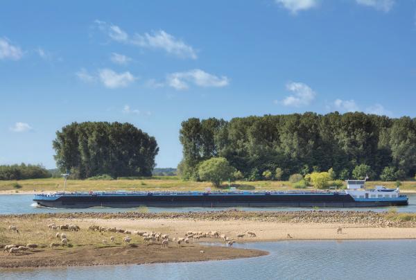 waterway rhine river rhineland germany