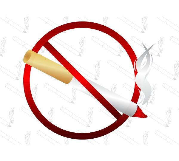 do not smoke sign