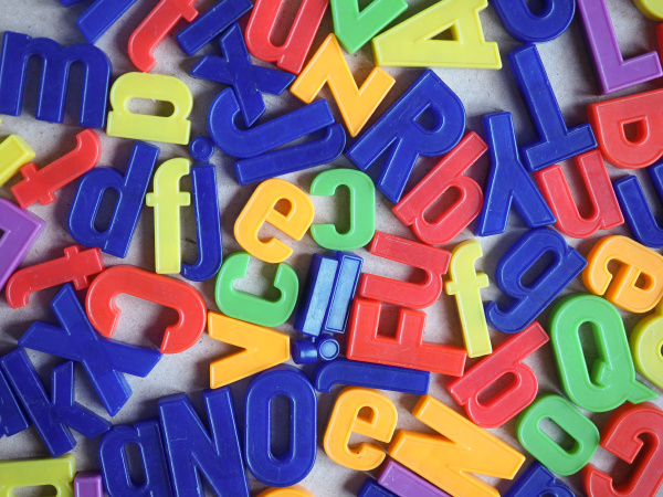 magnetic capital alphabet letters