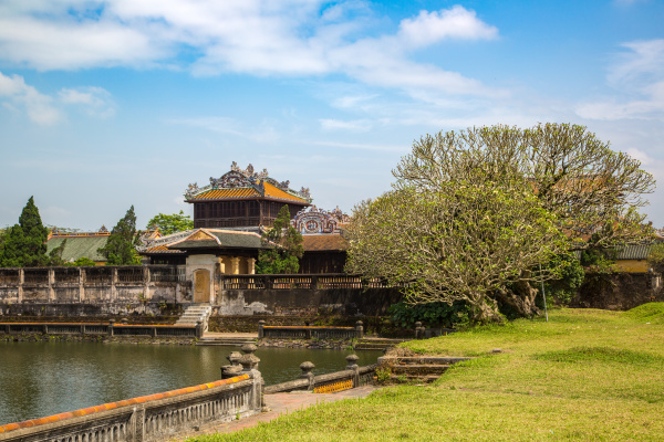 imperial royal palace in hue vietnam