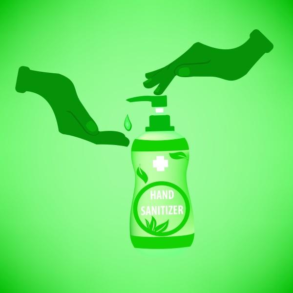 hand sanitizer vector hand sanitizer symbol