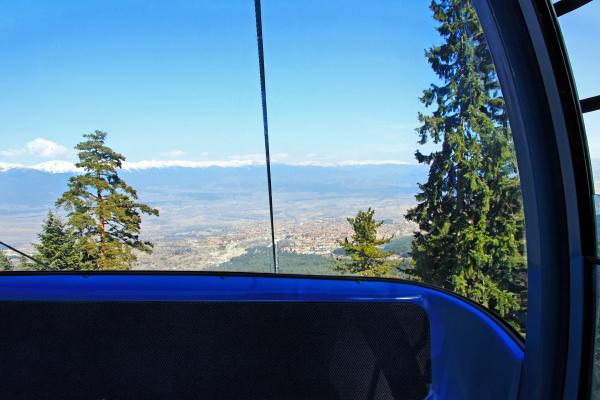 inside gondola