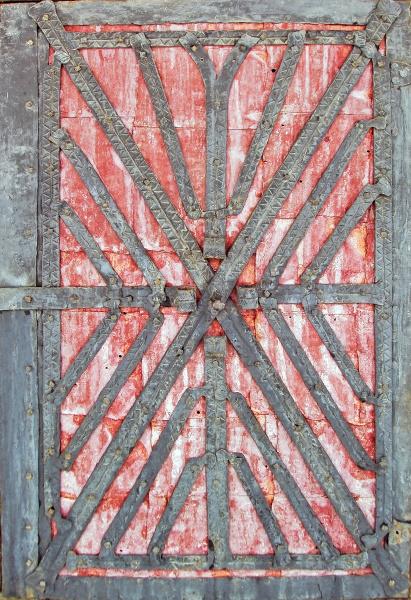 old vintage door