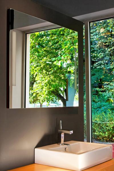 nature bathroom