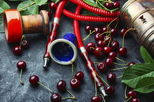 turkish shisha with cherry