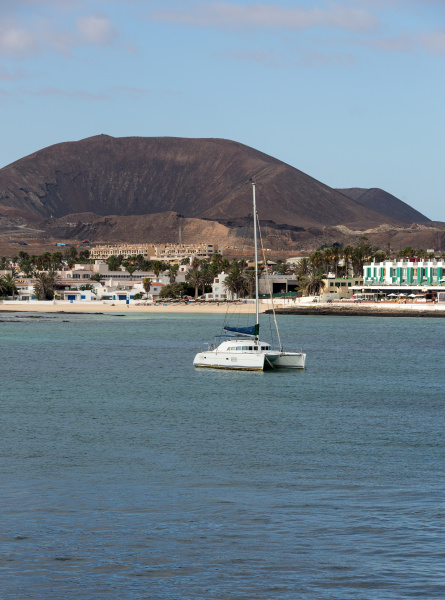 corralejo a town located on