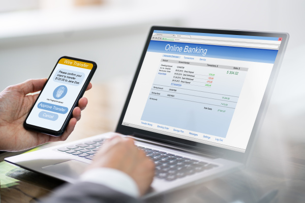 online banking mobile ecommerce authentication app
