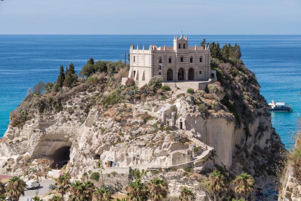 sanctuary on sandstone rock