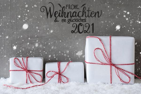 christmas gifts snow snowflakes
