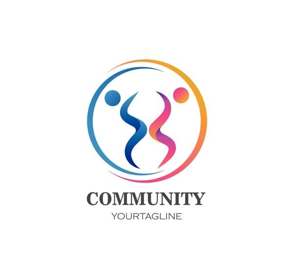 leadership community and social care logo