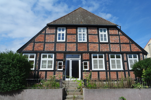 old half timbered house northern germany
