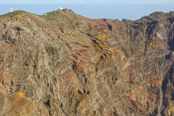 volcano crater la