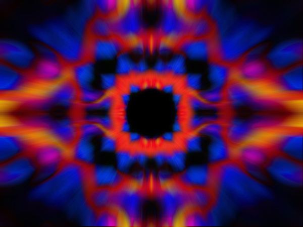 colourful kaleidoscope pattern background
