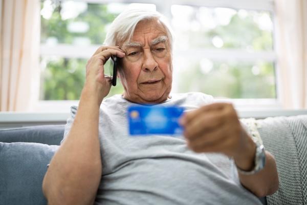elder scam call and senior pension